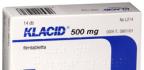 Antibiotika Klacid 500